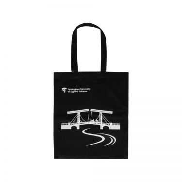 AUAS - Cotton shopper bag - Skinny bridge