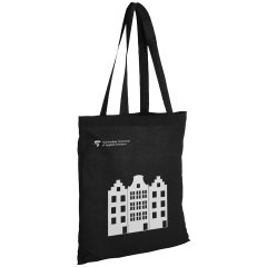 Cotton shopper bag AUAS - black